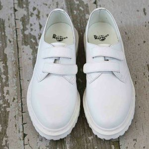 Dr Martens White LAUREEN Leather 2 Shoes 41 10